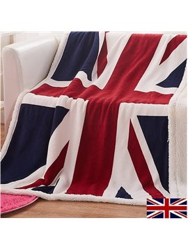 Quality Retro British Union Jack Pattern Blanket