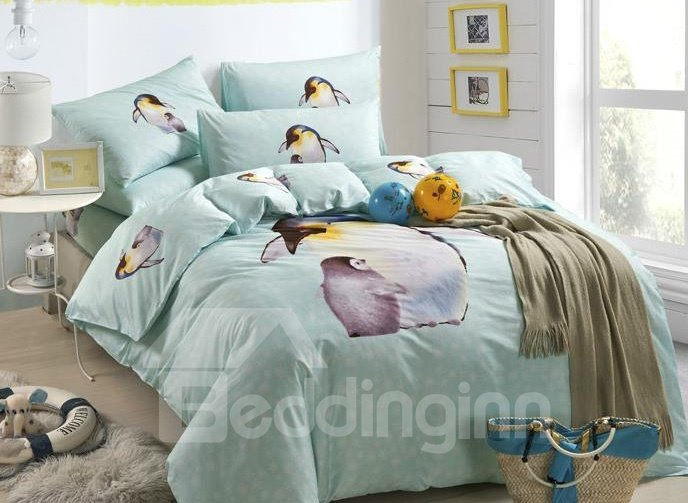 Best Selling Charming Cartoon Cotton 4-piece bedding sets