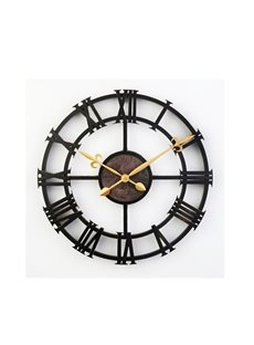16 Inches European Style Retro Roman Numerals Design Wall Clock