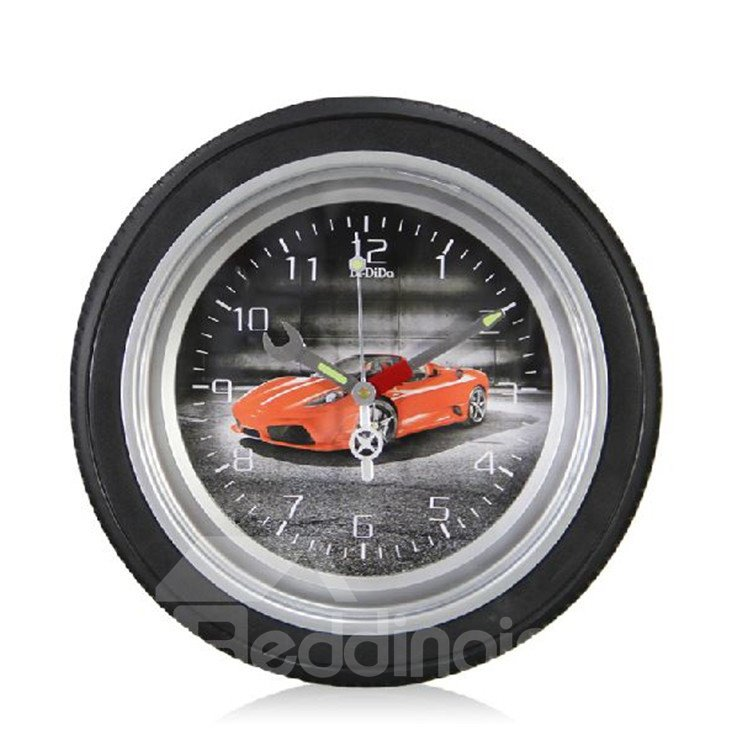 14 Inches Amazing Creative Tyre Design Wall Clock