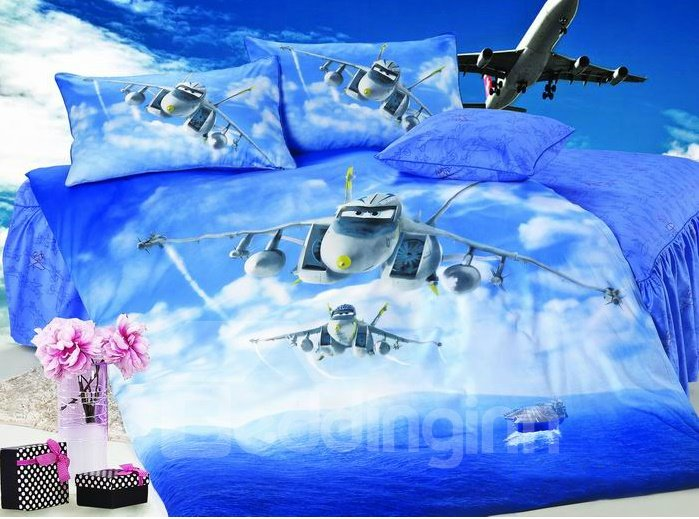 High Quality Flying Eagle 3-Piece Cotton Duvet Cover Sets