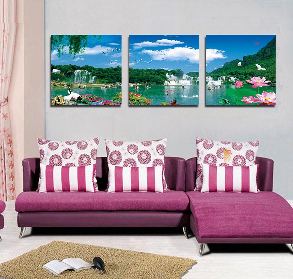 Hot Selling Fantastic Scenery Film Art Wall Prints