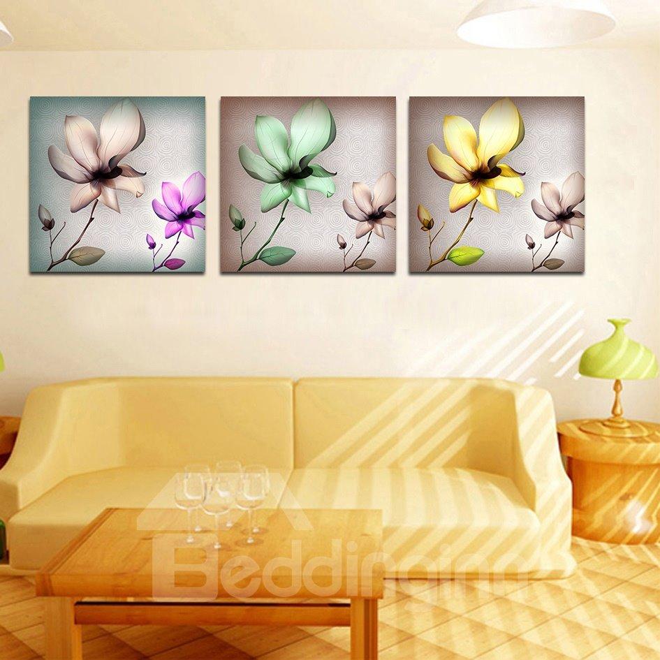 Quality Elegant Flowers Film Art Wall Prints