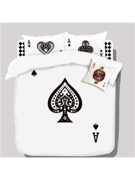 Top Quality Stunning Cartoon Spade A Cotton 4 piece bedding sets