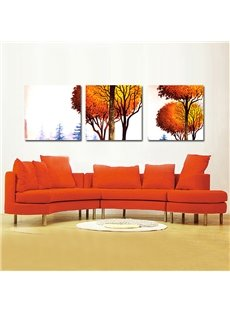 Gorgeous Tree Oil Painting Style Film Art Wall Prints