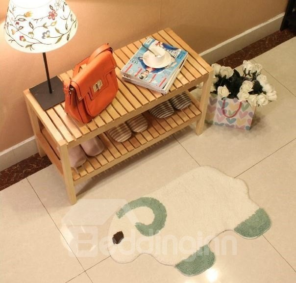 Elegant Cartoon Sheep Shape Non-slip Doormat