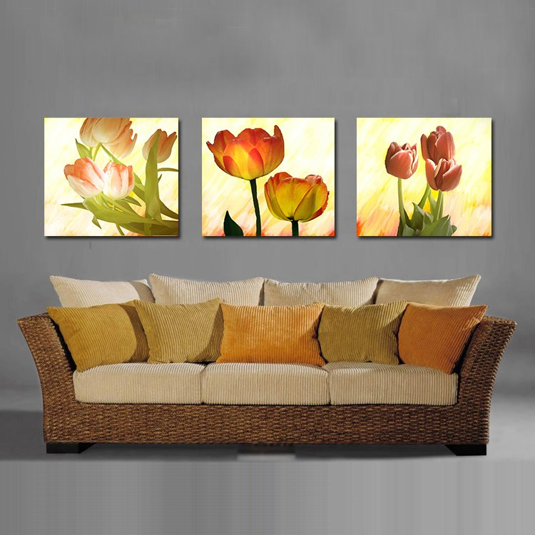 Pretty Elegant Tulip Film Art Wall Prints
