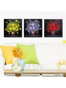 Quality Shiny Beautiful Colorful Flowers Film Art Wall Prints