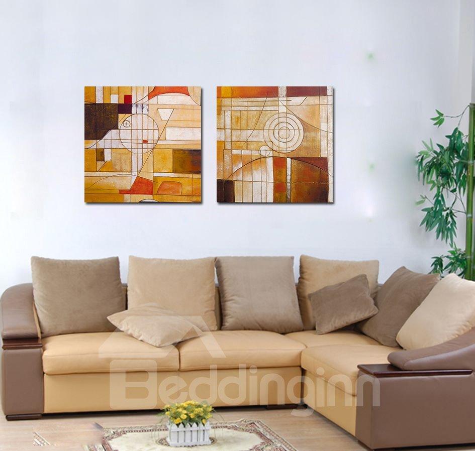 Fancy Abstract Geometric Figure Film Art Wall Prints