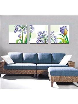 Pretty Flattering Purple Flowers Film Art Wall Prints