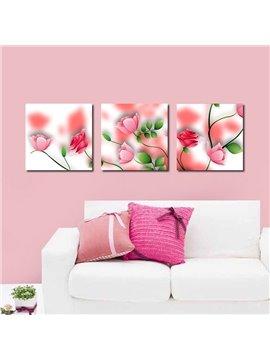 Amazing Pretty Pink Flowers Film Art Wall Prints