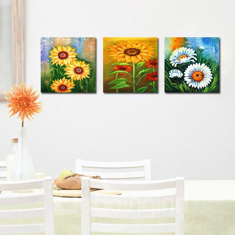 Shiny Beautiful Flowers Film Art Wall Prints