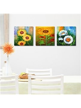 Shiny Beautiful Flowers Film Art Wall Prints
