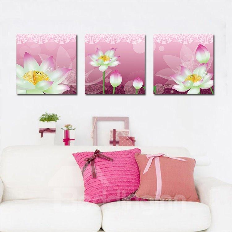 Amazing Pretty Lotus Film Art Wall Prints