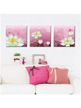 Amazing Pretty Lotus Film Art Wall Prints