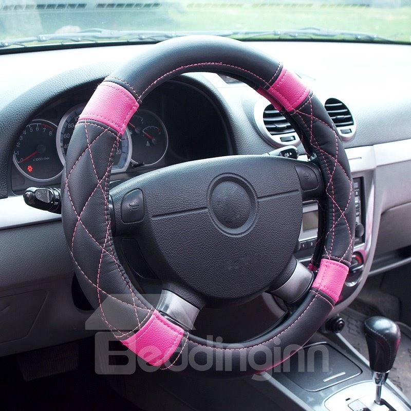 Popular Elegant Lovely Pink and Black Leather Style ...