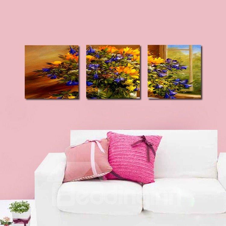 Vivid Beautiful Flowers Film Art Wall Prints