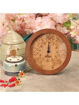 Highly Quality Amazing Solid Wood Concise Clock