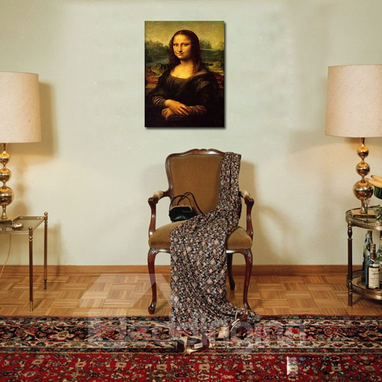 Elegant Classic Mona Lisa Film Art Wall Prints