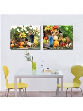 Various Fresh Fruit and Beverage Film Art Wall Prints