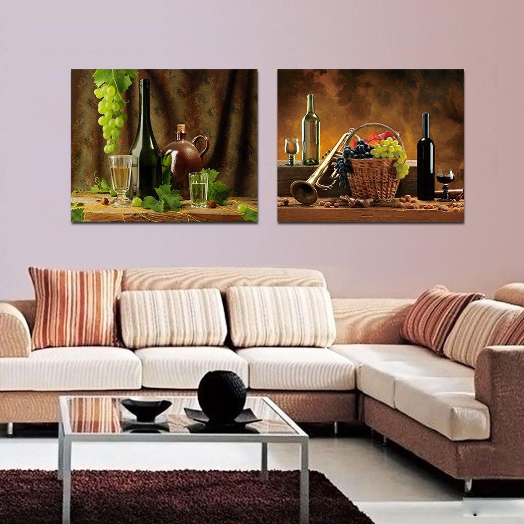 Fresh Grape and Wine Film Art Wall Prints