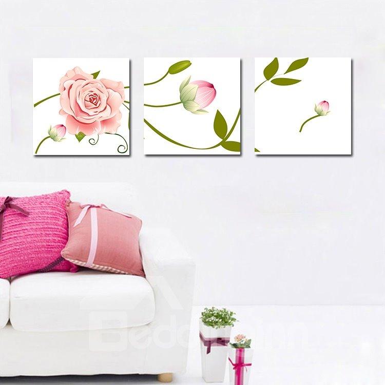 Elegant Blooming Flowers Film Art Wall Prints