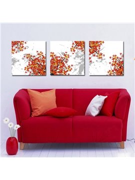 Pretty Elegant Maple Leaves Film Art Wall Prints