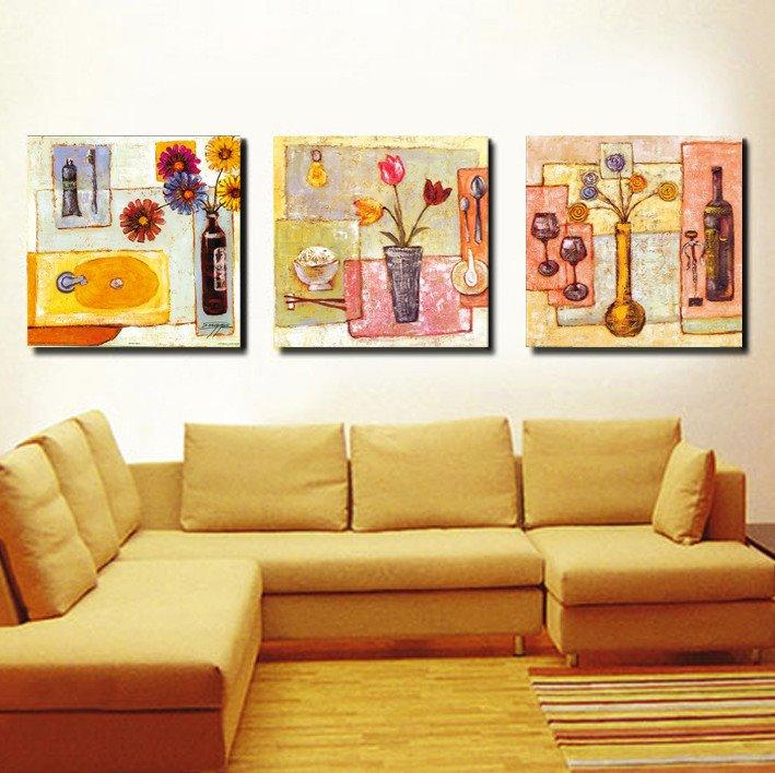 Flowers in Vase and Wine Film Art Wall Prints