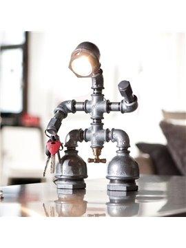 Hot Selling Stunning Creative Retro Robot Table Lamp