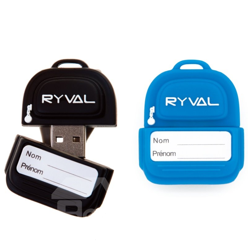 New Lunch Ryval Backpack Shaped USB Flash Drive