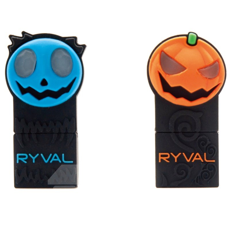 Funny Pumpkin Style LED USB Flash Drive