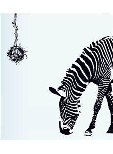 New Arrival Stunning Creative Zebra and Bird Nest Design Wall Sticker