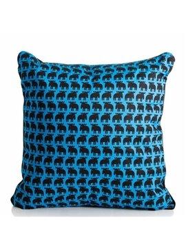 Quality Trendy Cute Deer Print Cotton Throw Pillow