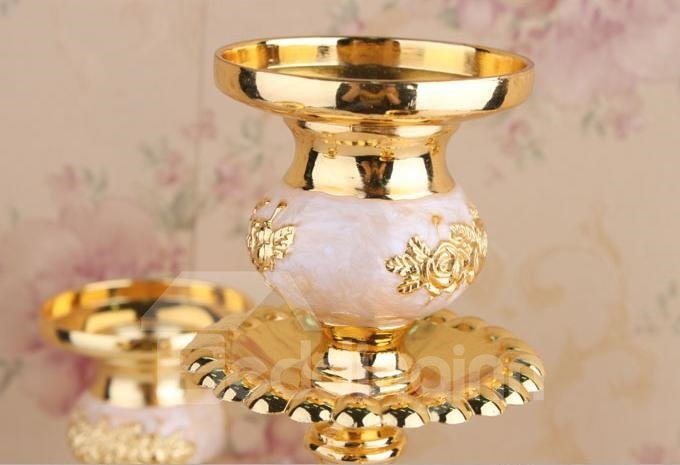 Best Selling Fashion Luxury European 5-Heads Wedding Candle Holders