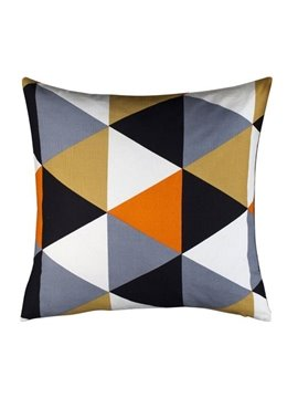 Quality Contracted Style Chic Geometric Figure Pillowcase