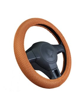 High Quality 100% Dacron Ice Silk Steering Wheel Cover