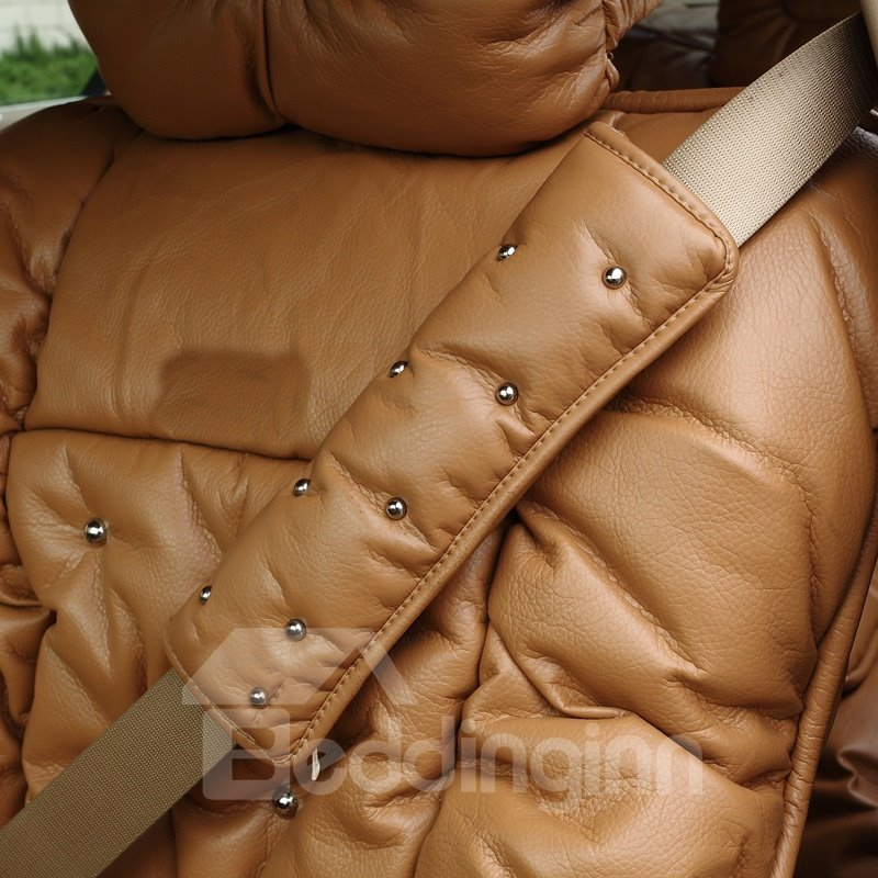Super Soft Solid Color And Nails Seat Belt Cover