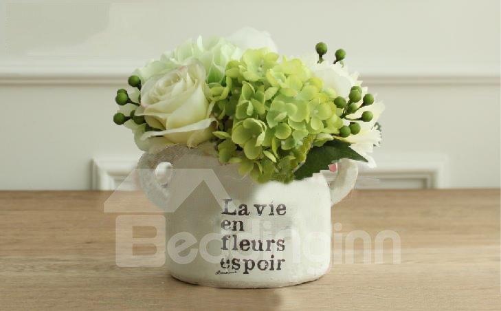 Top Quality Wonderful Home Furnishing Decoration Whole Pantana Hydrangea Flower