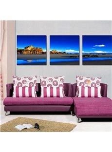 Fancy Landscape and Lake Film Art Wall Print