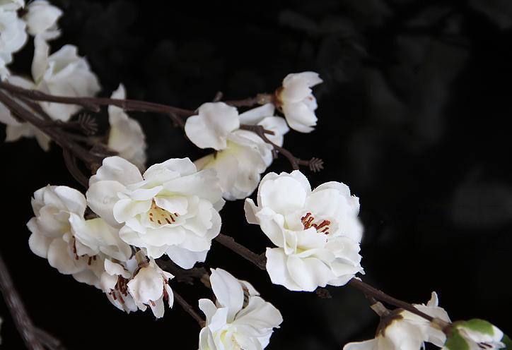 New Arrival Popular Large Simulation Single Floor Peach Blossom Flower Arrangement