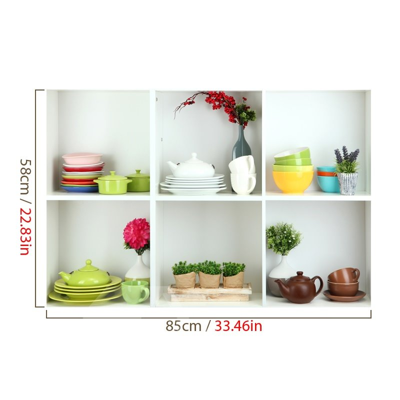 Amazing 3D Dish and Tea Set Patterns Wall Stickers