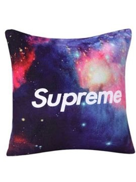 Quality Starry Galaxy Gradient Pattern Throw Pillow