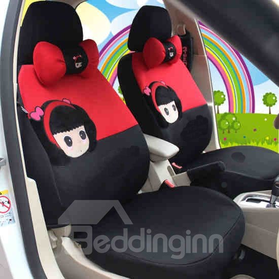 New Fashional Cute Cartoon Alice Girl Car Seat Cover