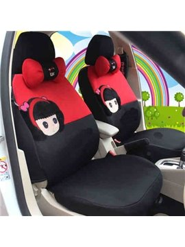 New Arrival Cute Cartoon Alice Girl Car Seat Cover