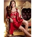New Arrival Fabulous Charming Rose Embroidery Sleepwear