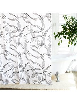 High Quality Fashion Modern Unique Design Shower Curtain