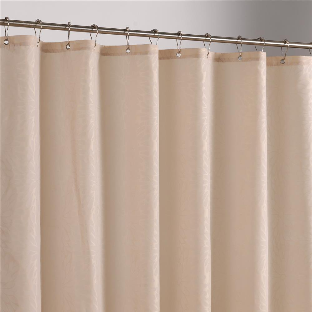 High Quality Fashion Modern Camel Color Shower Curtain