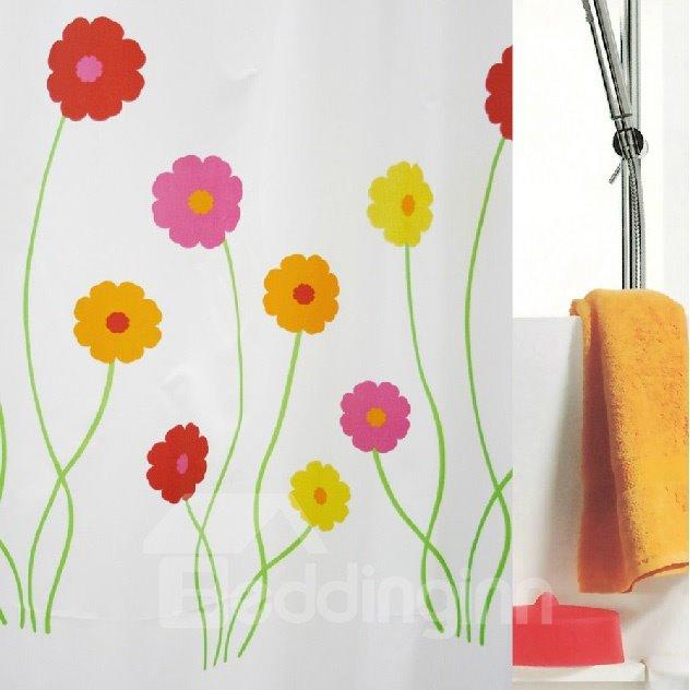 High Quality Pretty Elegant Floras Shower Curtain