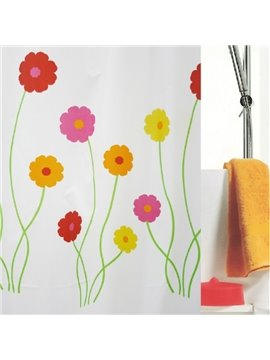 High Quality Pretty Elegant Floras Shower Curtain