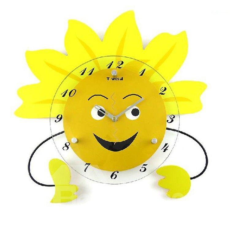Simple Style Fancy Creative Cartoon Wall Clock
